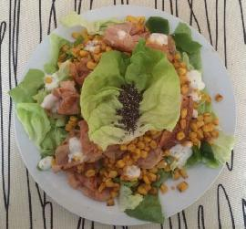 Chia-Putenbrust Salat LOW CARB